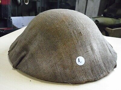British US Canadian Hessian Helmet Cover WW1 (relic Medal Tunic Dogtag Award) #1 • 75£