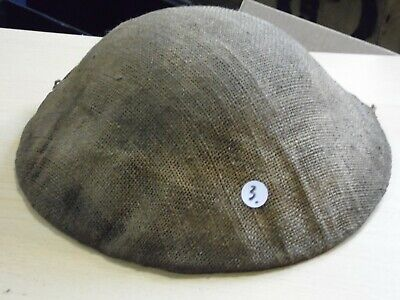 British US Canadian Hessian Helmet Cover WW1 (relic Medal Tunic Dogtag Award) #3 • 70£