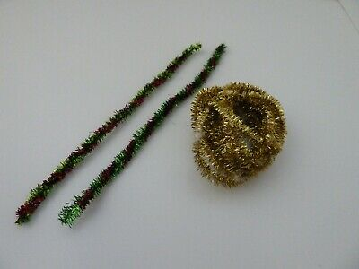 Dolls House Miniature 1:12th Scale USED EX DISPLAY Christmas 2 Lots Of Tinsel  • 2.75£