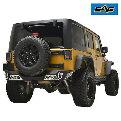 AU725 • Buy Jeep JK Wrangler 07~17 Web Style Rear Bumper Bar