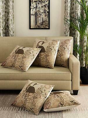 Back Sofa Decoration Peacock Printed Pillow Cushion Cover Square Polyester Couch • 17.49£