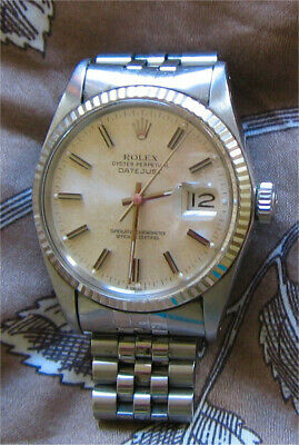 AU3600 • Buy Vintage Rolex Oyster Perpetual Datejust Men Watch - Preowned