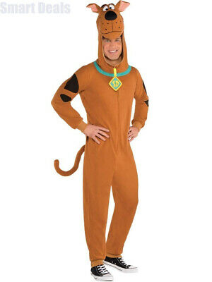 Amscan Adult Mens Scooby Doo Fancy Dress Costume (Large) Large: 42-46   • 29.98£