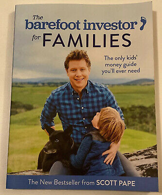 AU25 • Buy The Barefoot Investor For Families By Scott Pape LIKE NEW CONDITION