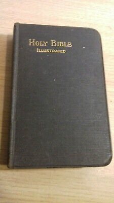 Vintage Holy Bible - Illustrated - Pre 1929, Eyre & Spottiswoode, London • 25£