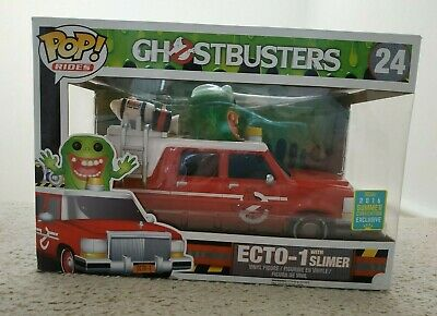 Pop! Vinyl Figure ECTO-1 With Slimer 'Convention Exclusive' Summer 2016 • 20£