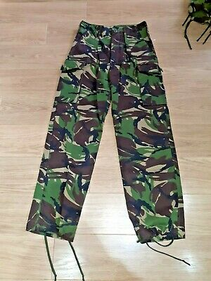 British Army DPM NATO Woodland Cadet Hiking Fishing Hunting Clothing. • 3.50£