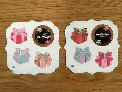 Luxury Birthday Gifts Card Toppers (T1) • 2.50£