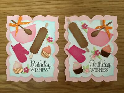 Luxury Birthday Baking Card Toppers (T5) • 2.50£