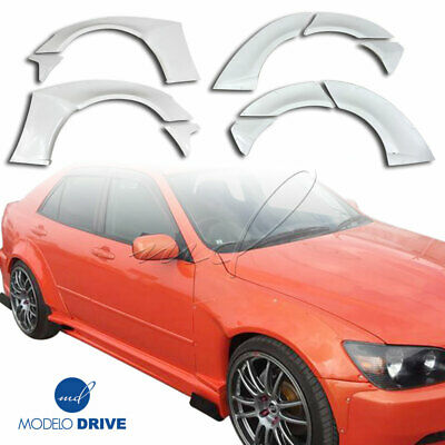 $599 • Buy ModeloDrive FRP MSV Wide Body Fender Flare Set 10pc For Lexus IS Series IS3