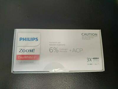 AU59.95 • Buy Phillips Zoom! Day White ACP Whitening Gel- Home System Gel 3x 2.4ml Syringes