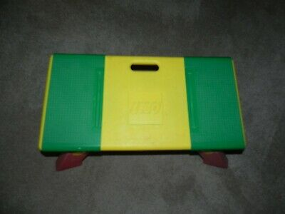 £51.78 • Buy LEGO ~ Lap Travel Activity Play Table Collapsible Legs Storage Bins - 1994 USA