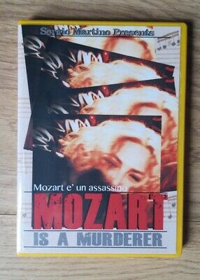 Giallo - Mozart Is A Murderer- Sergio Martino, Giallo 1999 -dvd-r. • 8.99£