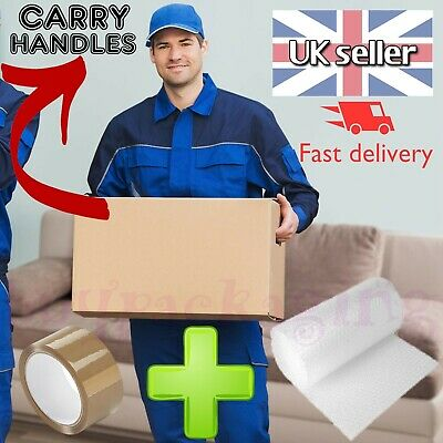 NEW X LARGE CARDBOARD BOXES - House Removal Moving Packing Storage • 13.24£