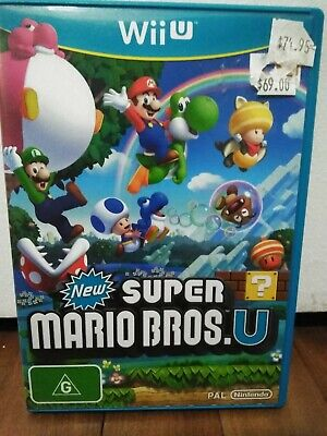 AU30 • Buy New Super Mario Bros U - Wii U - Condition Like New- Adult Owned  Complete Pal