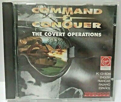 AU19.95 • Buy Command And Conquer The Covert Operations 1996 PC CD-ROM Game Virgin Westwood &