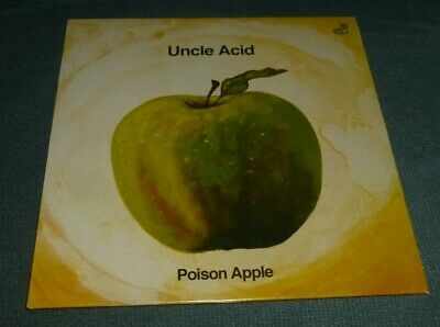 $13.97 • Buy Uncle Acid 7  45rpm Ps Poison Apple / Under The Spell Doom Metal Green Wax