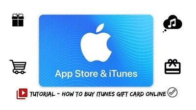 AU260 • Buy Apple Store And Itunes Gift Card