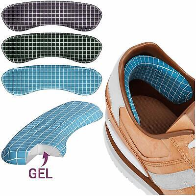 Heel Grips Shoes Gel Shoe Liners For Sport Shoes Extra Volume Insoles Protectors • 6.79£