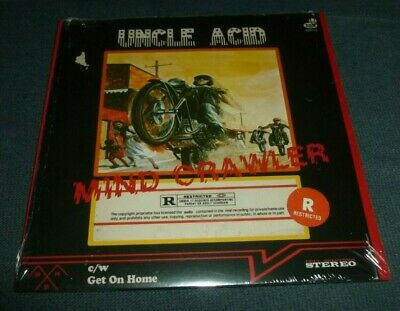 $12.97 • Buy Uncle Acid 7  45rpm Ps Mind Crawler / Charles Manson Cover Doom Metal Sealed New