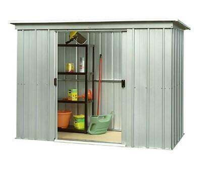 845 Yardmaster Pent Metal Garden Shed - Maximum External Size - 6'6  W X 3'11  D • 129.99£