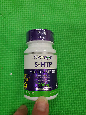 $ CDN46.97 • Buy Natrol 5-htp Time Release Tablets, 200mg, 60 Count Exp-4/2021