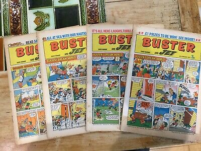 Buster And Jet Comic 1972 X 15issues Good Condition • 9.99£
