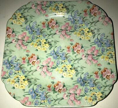 Shelley Melody  Chintz Sandwich Plate • 36£