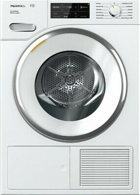 View Details Miele TWI180WP T1 Heat-pump Tumble Dryer With WiFiConn@ct Eco & Steam  • 1,250.00$