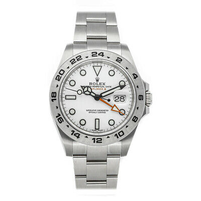 $ CDN11981.30 • Buy Rolex Explorer II Auto 42mm Steel Mens Oyster Bracelet Watch Date GMT 216570