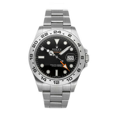 $ CDN11186.96 • Buy Rolex Explorer II Auto 42mm Steel Mens Oyster Bracelet Watch Date GMT 216570