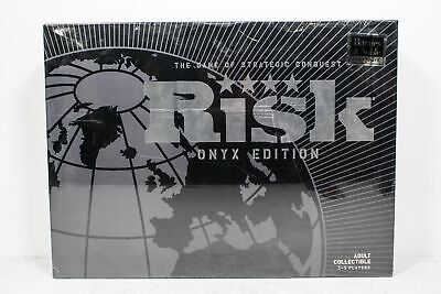 $14.99 • Buy 2009 Risk War Board Game Strategic Conquest Black Collectible Onyx Sealed