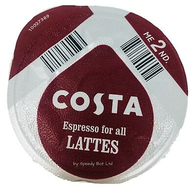 £19.92 • Buy 48 X Tassimo Costa Espresso Coffee Pods Only T-discs (loose) Expresso Pods Latte