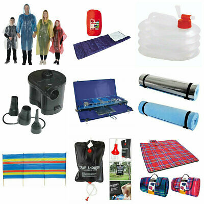 £7.55 • Buy Camping Equipment Festival Accessories Sleeping Bag Tent Pegs Picnic Rug Stove