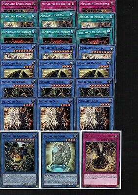 Yugioh Cards - 24 Card Set - Megalith Ritual Deck - All New IGAS 1st Edit • 4.99£