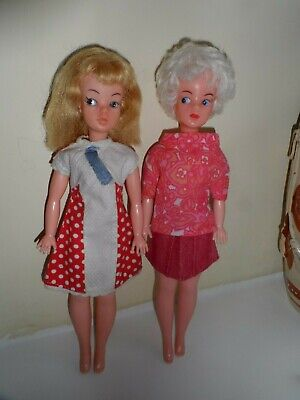 Vintage 1960s EVERGREEN Sindy Clone Dolls, One A Marilyn Lookalike. • 9.99£