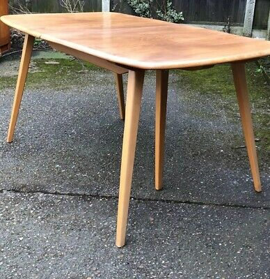Outstanding Original Retro Ercol Grand   Extending Dining Table  Mint We Deliver • 1,685£