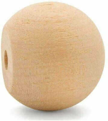 """$12.99 • Buy 1-1/4"""" Wooden Ball Knobs For Kitchen Cabinet, Drawer & Dresser By Woodpeckers"""