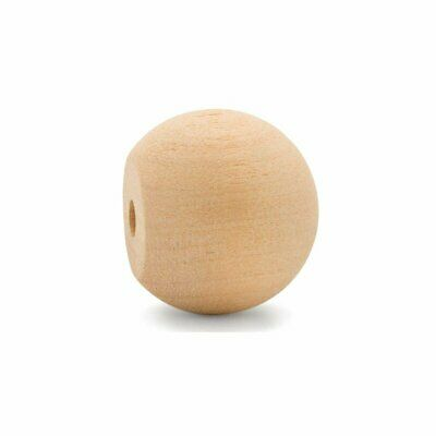 """$18.99 • Buy 1-3/4"""" Wooden Ball Knobs For Kitchen Cabinet, Drawer & Dresser By Woodpeckers"""