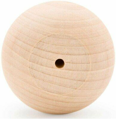 """$34.99 • Buy 2-1/2"""" Wooden Ball Knobs For Kitchen Cabinet, Drawer & Dresser By Woodpeckers"""