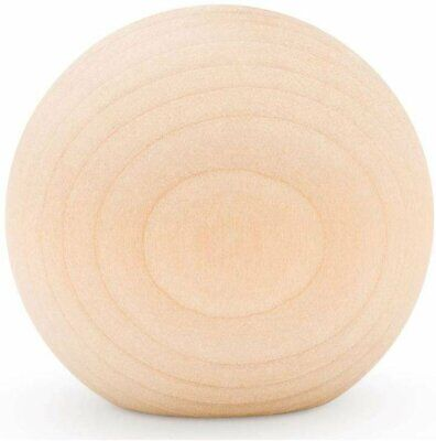 """$28.99 • Buy 2-1/4"""" Wooden Ball Knobs For Kitchen Cabinet, Drawer & Dresser By Woodpeckers"""