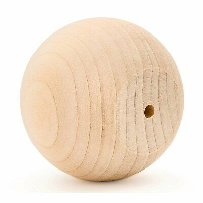 """$59.99 • Buy 3"""" Wooden Ball Knobs For Kitchen Cabinet, Drawer & Dresser By Woodpeckers"""