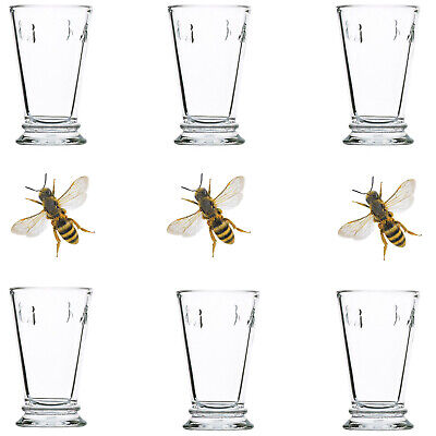 £34.99 • Buy 6* La Rochere Bee Large Goblets  31cl  Idle For Water,  Drinks & Cocktails