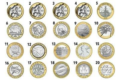 £2 Coin Two Pound ROYAL MINT BRITISH COIN HUNT RARE COLLECTABLE • 4.75£