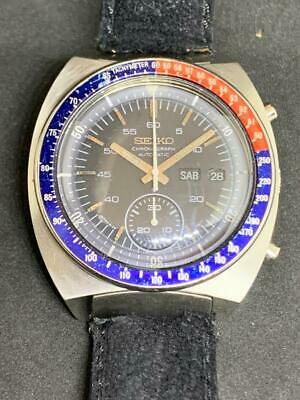 $ CDN1025.33 • Buy Seiko Pogue Vintage Chronograph Ref. 6139 6002 PEPSI