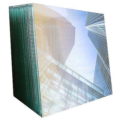 10mm Toughened Glass Panels For Stairs Landing Decking Balcony Balustrade • 50£