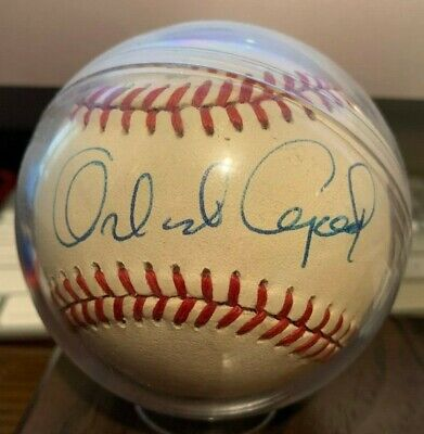 $ CDN26.45 • Buy Giants ORLANDO CEPEDA Signed Official Major League Baseball