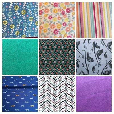 £1.99 • Buy CLEARANCE 100% Cotton Fabric FAT QUARTERS, Liberty, Michael Miller NEW