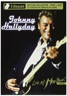 AU38.99 • Buy Johnny Hallyday - Live At Montreux 1988 (import) New Cd