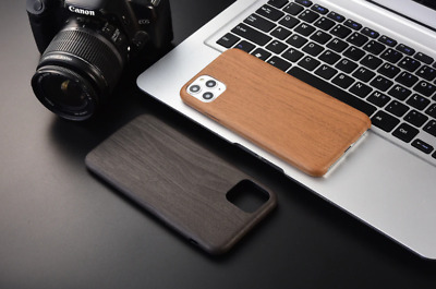 WOODEN Texture IPhone Case For IPHONE 12 11 PRO MAX MINI XR X XSMAX 8 7 PLUS SE✅ • 8.99£